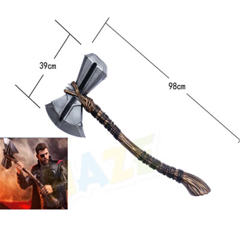 Avengers 3 Infinity War Thor Stormbreaker Axe Cosplay Handmade 1  1 Prop Hot
