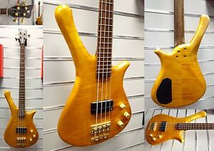 Warwick   forteresse One -4 String-E-Bass   année modèle 1995   Vintage   exposants