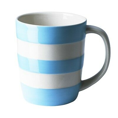 Cornish Turkish (Baby) Blue 12oz Mug by T.G.Green Cornishware