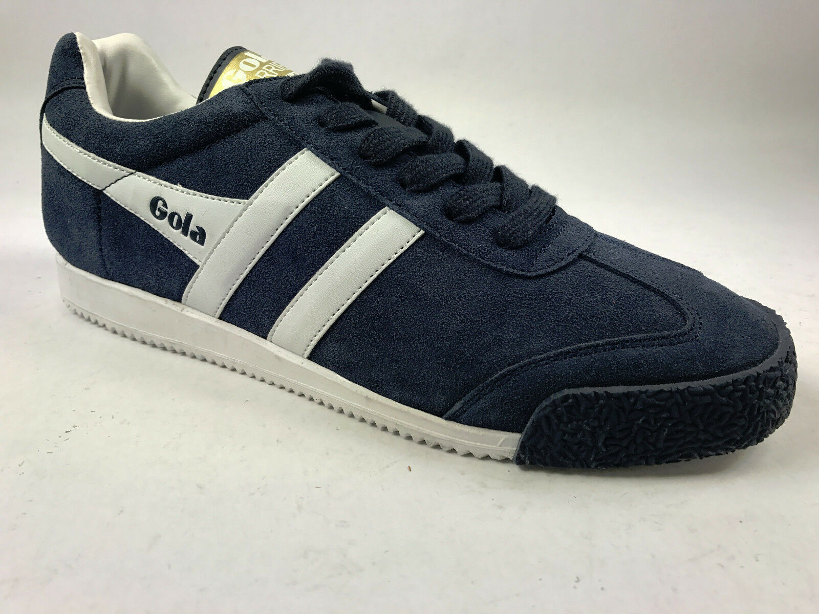 NEW Gola Men`s Harrier Suede Trainer New in Box Size 9