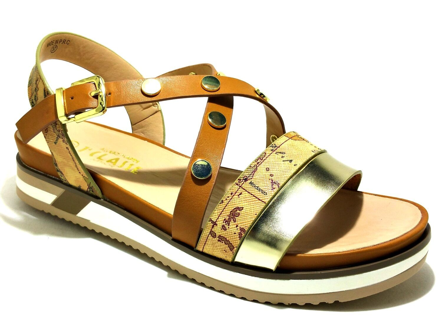 ALVIERO MARTINI geo geo geo shoes woman girl sandals low sneakers casual leather 05d697