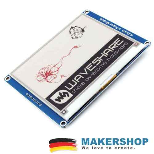 """Waveshare 4,2/"""" Farb E-Ink E-Paper 400x300 SPI LCD Display Modul Raspberry Ard..."""