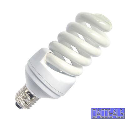 DAYLIGHT 6400K LOW ENERGY LIGHT BULB ES 20W = 100w SAD