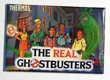 """Vintage THE REAL GHOSTBUSTERS Lunchbox 2"""" x 3"""" Fridge MAGNET Art"""