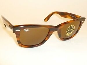 df215c2929b24 New RAY BAN Original WAYFARER Sunglasses RB 2140 954 B-15 Glass ...