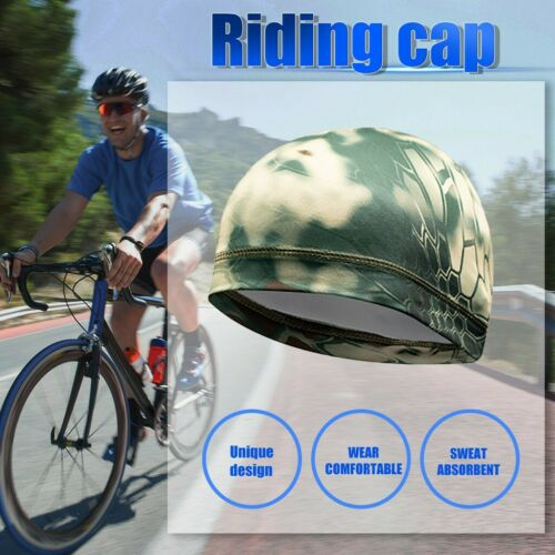 Fahrradkappe Mütze Kappe unter Helm Cap Atmungsaktiv SchweißAbleitende Kappe