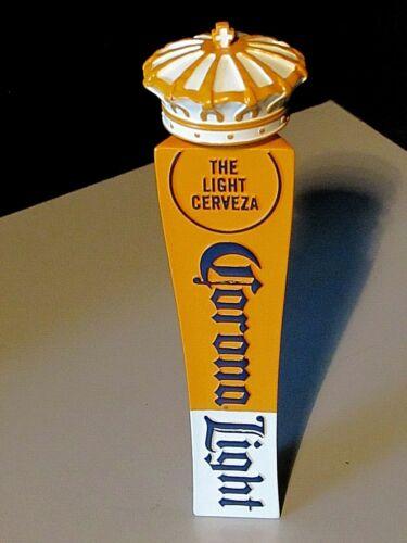 "7/"" Corona Light Crown 3 sided cerveza Import Beer Tap Handle Lot Kegerator"