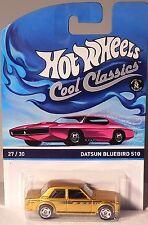 HOT-WHEELS COOL CLASSICS 2014 DATSUN BLUEBIRD 510 27/30
