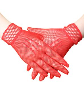 Gants-courts-rouges-en-resille-chainettes-sur-le-dos-de-la-main-pinup-retro-glam