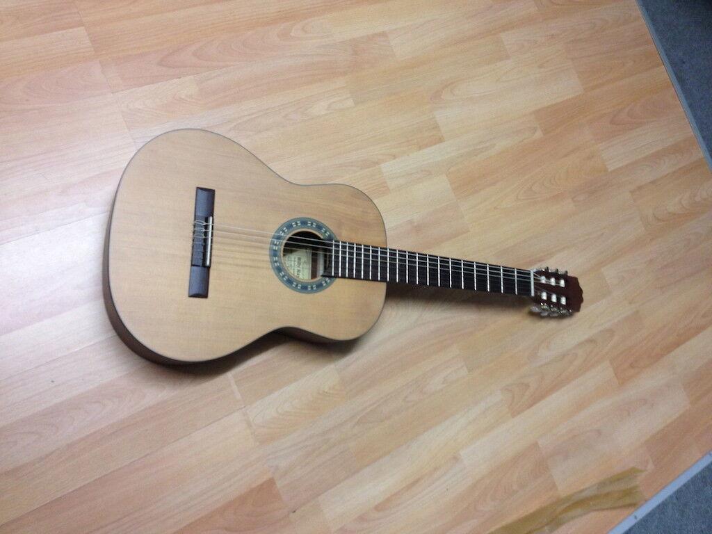 Klassische Gitarre Matt Finisch Billy    CD MA980 MT Solid Top Ceder neu(58)