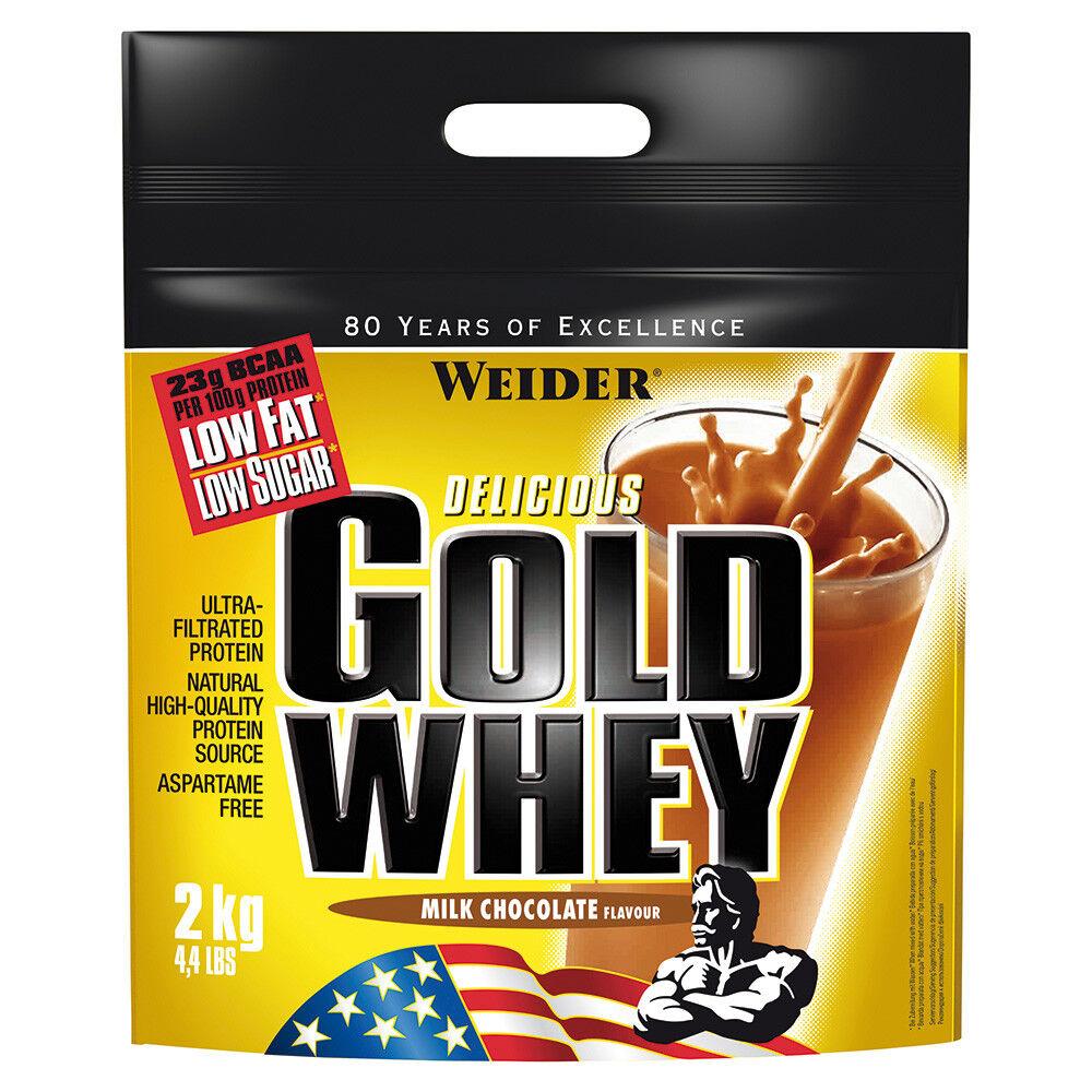 ( /kg) Weider Gold Whey Protein Beutel 2000g Beutel Protein + Bonus 914d52