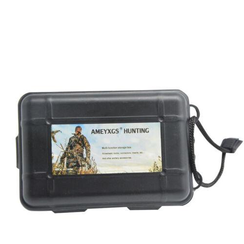 Archery Arrowheads Portable Storage Box Broadhead Sponge Point Protector Hunting