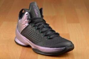 3bafa1b5655 Mens Nike Air Jordan Melo M11 Sneakers New, Black / Berry 716227-028 ...