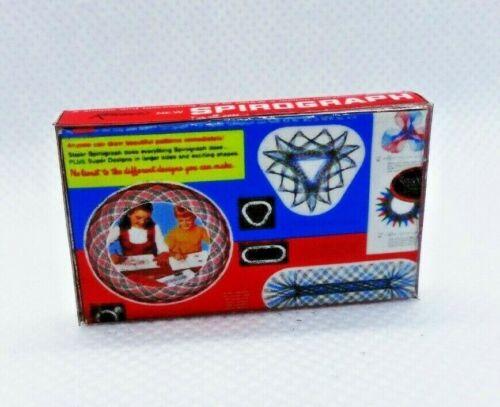 Miniature 1:12 scale classic original Spirograph art toy Dollhouse prop TOY BOX