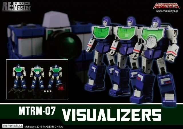 Hacer Juguetes-RM-07 visualizers 3rd fiesta Transformers