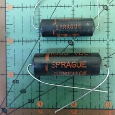 CORNELL-DUBILIER AXIAL CAPACITOR 6000pF 600v CUB6D6 0.006uF VINTAGE AUDIO