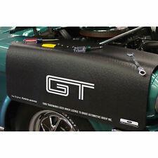 """Chevrolet Corvette C3 Stingray Logo 22/"""" x 34/"""" Black Fender Gripper"""