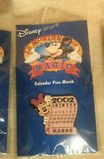 MARCH 2002 MINNIE DISNEY STORE 12 MONTHS OF MAGIC CALENDAR SERIES