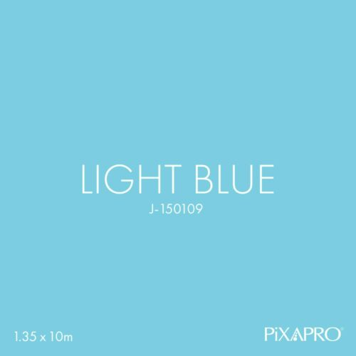Ligt Blue Seamless Paper Background Backdrop Central Core Photography 1.35x10m