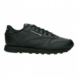 56d8da8dec7 Reebok Classic Leather Women s Shoes Sneaker Black 3912 Leisure Sports UK  5. About this product. Stock photo  Picture 1 of 1. Stock photo