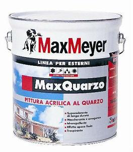 MAX MEYER MAX QUARZO Pittura murale farina quarzo acrilica ...
