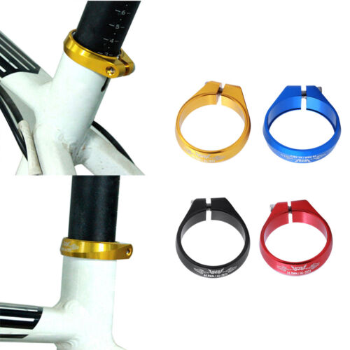 Aluminum Alloy 34.9mm Bike Seatpost Clamp Replacement Bicycle Seat Post Clip
