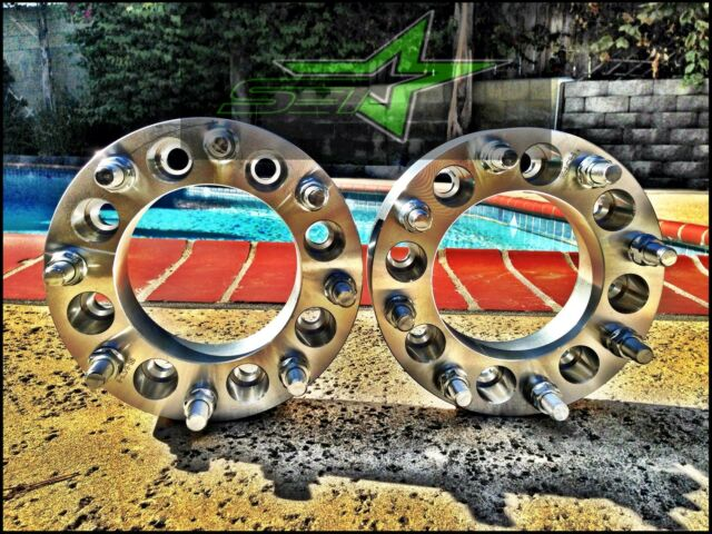 """8X6.5 TO 8X6.5 WHEEL SPACERS ADAPTERS 