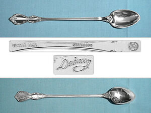 EXCELLENT CONDITION TOWLE SILVER FLUTES STERLING SILVER ICED TEA SPOON