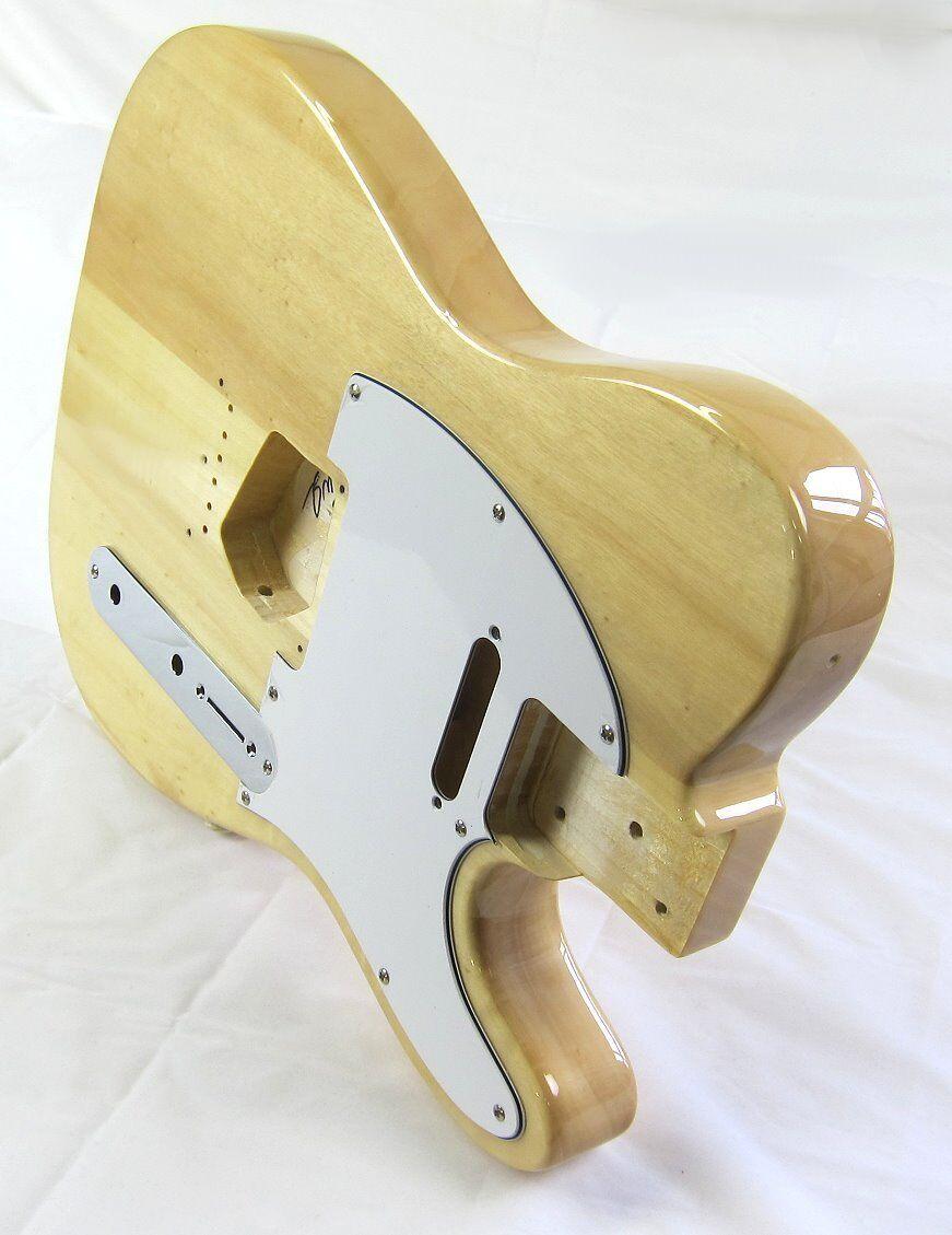 Cuerpo de guitarra aliso clásico de colección rubia Trans Trans Trans HWY 61 TLse Guardia Placa  autorización