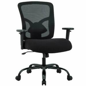 Miraculous Details About Bestmassage Big And Tall 400Lb Office Chair Desk Ergonomic Executive Rolling Swi Gmtry Best Dining Table And Chair Ideas Images Gmtryco