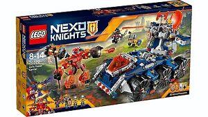 La tour de défense mobile Lego® Nexo Knights ™ 70322 Axls Nouveau Nouveau Ovp Misb