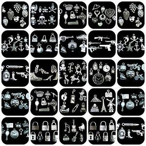 Tibetan-Silver-Theme-Charm-Packs-Wine-Baby-Animal-Sport-Pick-Theme-ML