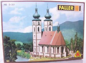 RARE-FALLER-B-351-OO-HO-KIT-LARGE-MONASTERY-CHURCH-283-x-149-x-358-mm