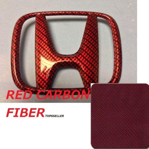 CARBON FIBER RED Hydrographics Dip US Film Water Transfer Printing  50x1000 cm