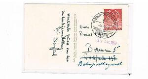 Berlin MiNr. 71 comme EF après Brême au niveau officiel ERP carte avec sst 8.10.1950-afficher le titre d`origine YgQd7M8C-07145721-797741981