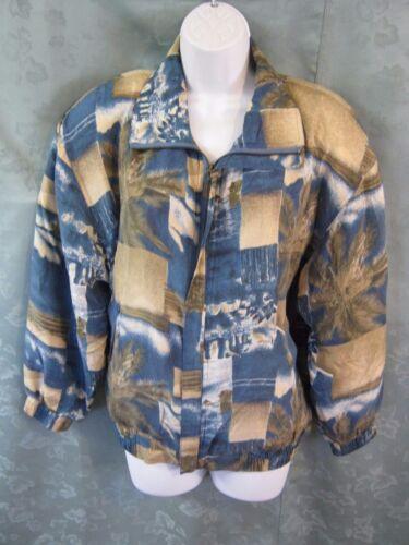 90's FUDA International Silk Bomber Jacket Size S… - image 1