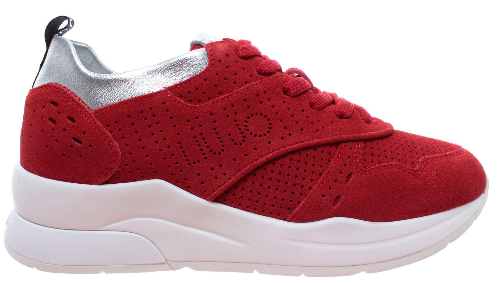 Liu jo Milano Karlie 14 14 14 zapatillas serraje rojo Zapatos señora nuevo  buscando agente de ventas