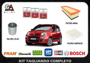 Kit tagliando Fiat Panda 1.2 51KW 69CV (312, 319) dal 02/2012 + Selenia K 5W40