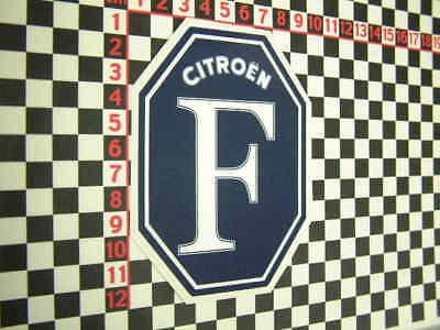 Citroen Metz Borny Sticker 2CV DS DS19 DS21 DS23 Ami 6 8 Arcadiane Dyane