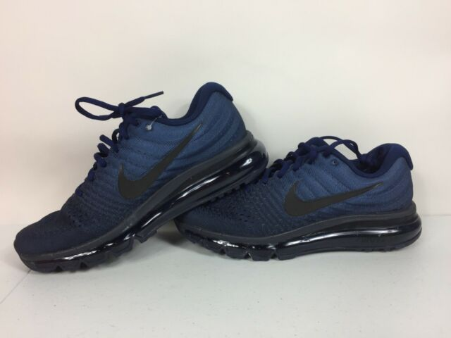 lowest price 028d4 12d56 Nike Air Max 2017 Binary Blue/Black-Obsidian Mens Shoes Size 7 849559 405