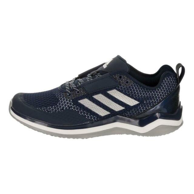 adidas Performance Men's Speed Trainer 3.0, NavyMetallic SilverWhite, Q16545