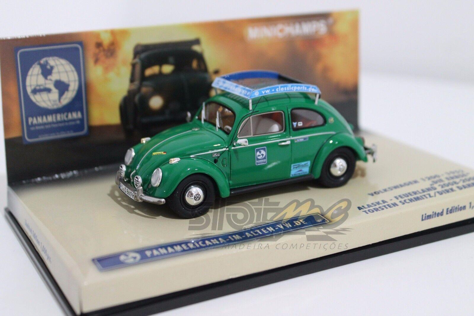 Minichamps 437050000 Volkswagen 1200 - 1952 Alaska-FEUERLAND 2008-2009  NEW