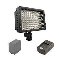 Pro 1 Hd Led Light D54 For Panasonic Ag Hpx250 Hpx370 Hpx255 Ac130a Ac90a Hvx200