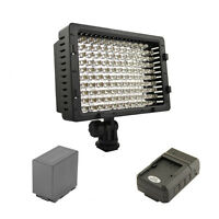 Pro 1 Hd Led Light D54 For Panasonic Ag Ac8pj Ac90a Ac130a Hmc80 Ac160a Px270