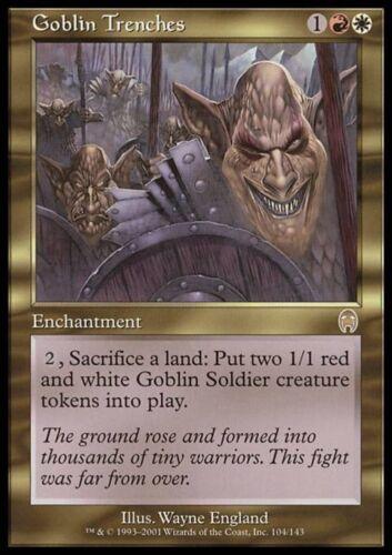 TRINCEE DEI GOBLIN GOBLIN TRENCHES Magic APC Mint