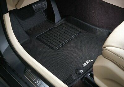 3D MAXpider Tesla Model 3 2020 Floor Mats Custom Fit All-Weather Car Liners 1st /& 2nd Row, Black Kagu Series