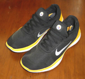Nike Free Trainer V7 NFL shoes mens new AA1948 002 Pittsburgh ... 69a008262