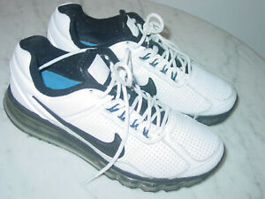 Details about 2014 Nike Air Max 2013 BlackWhiteHyper CobaltSilver Running Shoes! Size 8