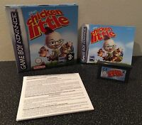 Disney's Chicken Little - Nintendo Gameboy Advance Game - Boxed With Manual
