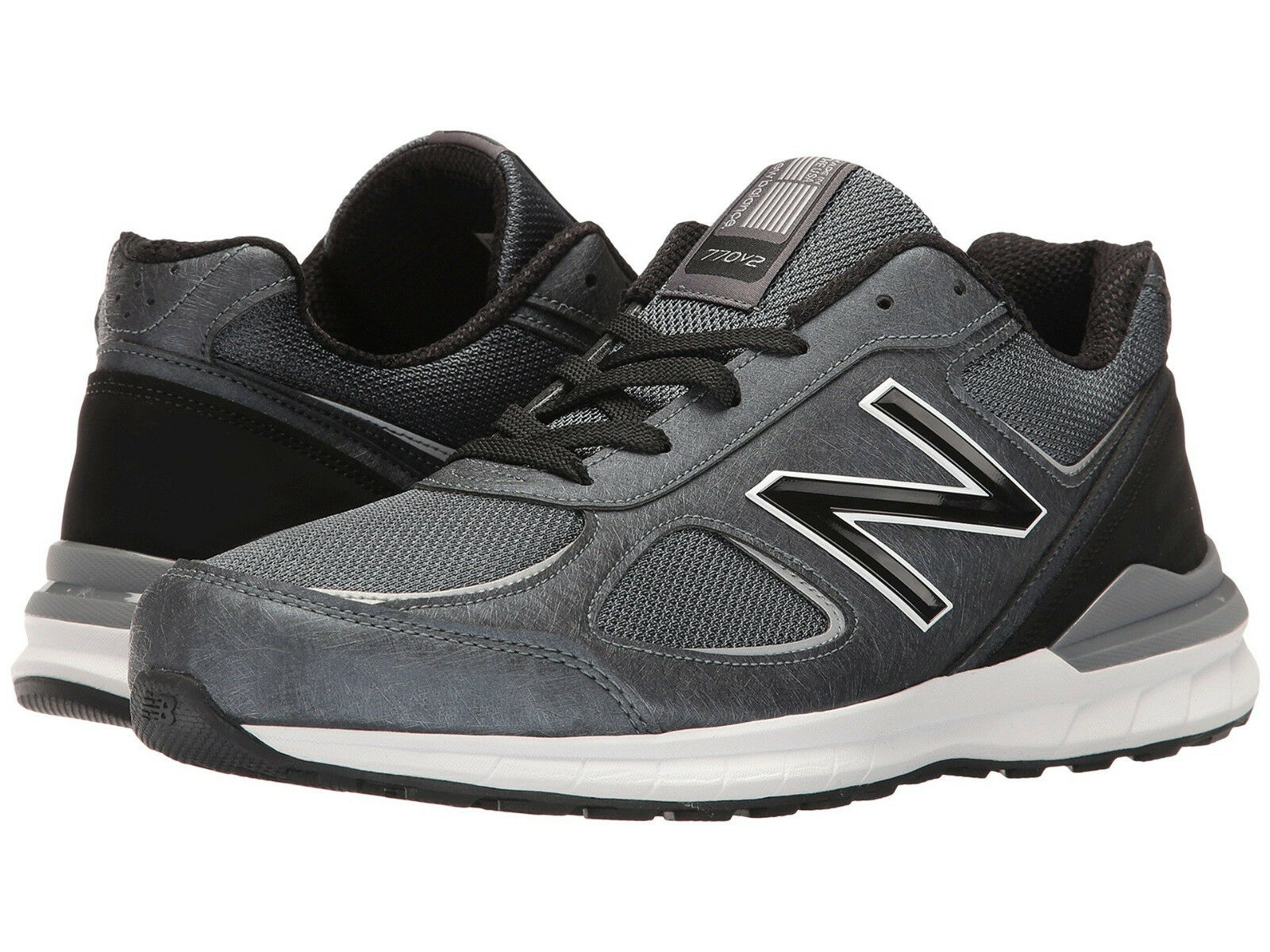 New Balance Men's 770 US 11 2E Grey Mesh Running Sneakers shoes USA  130.00